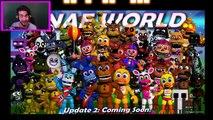 FNAF WORLD PURPLE MAN CHARACTER   FNAF World All Characters Update 2   FNAF WORLD NEW CHAR