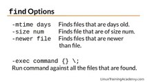 Learn Linux in 5 Days - Finding Files and Directories ( Video 17 )