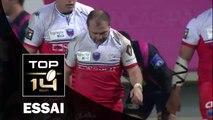 TOP 14 – Paris – Grenoble : 18-33 – J16 –  Essai 2 Arnaud HEGUY (GRE) – saison 2015-2016