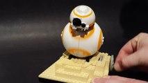 Construisez votre Droide BB-8 en Lego qui roule!!! Meilleur jouet Star Wars!