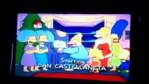 Closing to The Simpsons Christmas Special VHS 1991