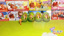 5 Scooby-Doo Surprise Eggs and Toys スクービー・ドゥーのおもちゃ B