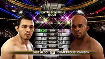 EA Sports UFC Rivalries Gameplay - Mighty Mouse Aint So Mighty
