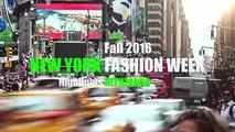 ALTUZARRA Highlights Fall 2016 New York Fashion Week by Fashion Channel