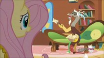 My Little Pony  FiM - Discord alone with Angel [HD]