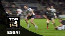 TOP 14 – Agen – La Rochelle : 31-27 –  Essai Johann SADIE (AGE) – J16 – saison 2015-2016