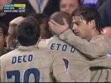 Ronaldinho : Barça Chelsea 2004/2005