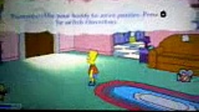 another simpsons game glitch: part 1