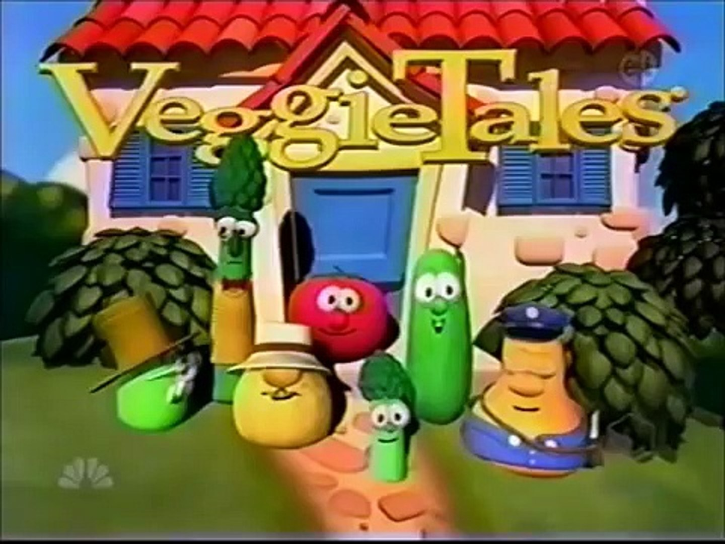 VeggieTales TV Scenes - Larry Boy! & The Fib from Outer Space!