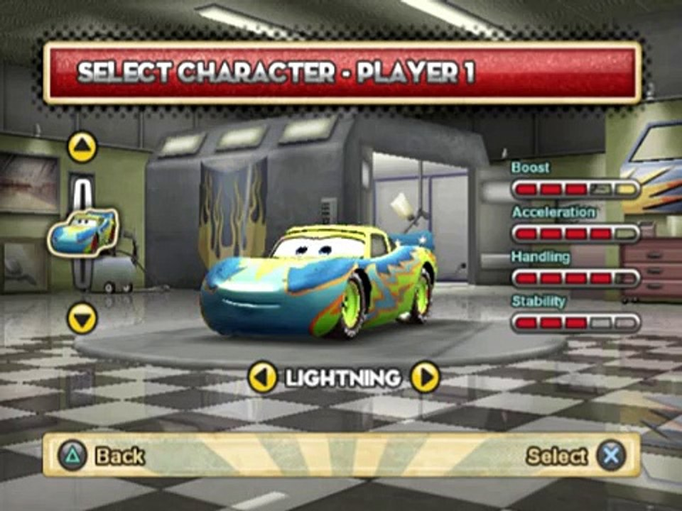 Cars Mater-National Championship (PS2 Gameplay)
