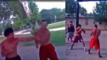 Cocky Brawler vs Patient Boxer