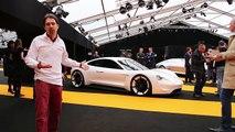 2016 Porsche Mission E au Festival Automobile International - L'argus