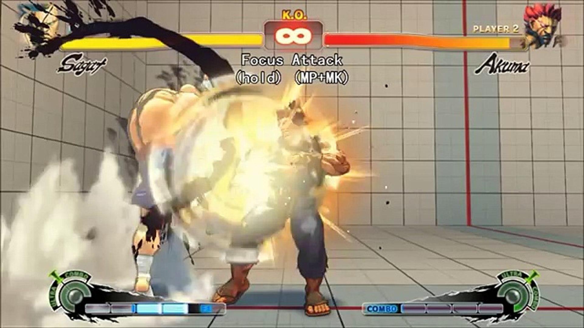 Ultra Street Fighter Iv Sagat Move List