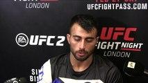 UFC Fight Night 84 Makwan Amirkhani post fight interview