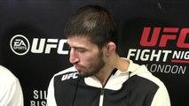 UFC Fight Night 84 Rustam Khabilov post fight interview