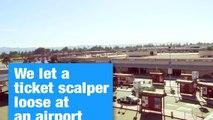 Airline Ticket Scalper Prank | Ticketmaster Verified (:30)