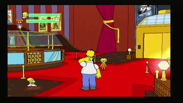 Lets Play The Simpsons Game: Part 12 (1/2) - Grand Theft Scratchy