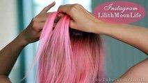 Prom/wedding hairstyle tutorial for medium long hair: braided flower updo