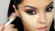 Kim Kardashian Makeup Tutorial New Brown Smokey Eyes/ Makeup