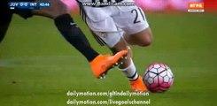 Paulo Dybala Gets Injured - Juventus vs Inter Milan - Serie A - 28.02.2016 HD