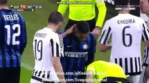 Juan Jesus Horror Tackle on Paulo Dybala - Juventus vs Inter Milan - Serie A - 28.02.2016 HD