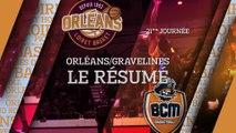 Résumé  - J21 - Orléans reçoit Gravelines