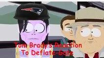 Tom Bradys Responce To Deflate Gate South Park Michael JacksonAllegedly Ignorant