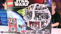 Lego Star Wars Death Star Challenge Build 10188 and Review by HobbyKidsTV