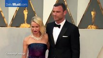 Naomi Watts and Liev Schreiber are loved up at 2016 Oscars