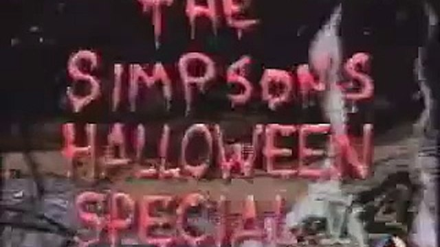 Los Simpsons - Especial De Halloween Simpsons V - Part 1 Of 4