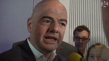 Gianni Infantino talks reforms at Fifa museum inauguration