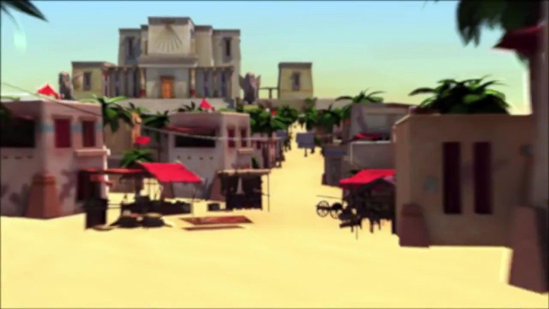 Интересные Мультики : « Создание Пирамиды » ( Мультфильмы Смотреть Онлайн ) HD