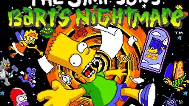 The Simpsons: Barts Nightmare (SNES) Blue Door