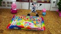 Свинка Пеппа делает КОНФЕТЫ. Учим цвета и смешиваем их. Развивающее видео для детей. Peppa Pig