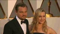 Leonardo di Caprio y Kate Winslet se reencuentran en la alfombra roja de los Óscar