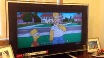 Dare Contest: Bart Simpson Skating Nude-The Simpsons Movie