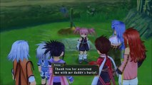 Tales of Symphonia Chronicles PS3 Presea Character Introduction Gameplay trailer