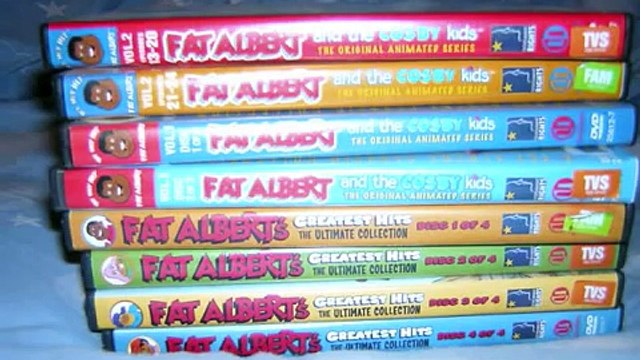 Large Lot Fat Albert DVD Bill Cosby