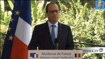 François Hollande chante le générique du dessin animé Oui Oui