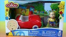 Caillous Car Caillou drives in his Car picks up Leo & has an accident with Barney & Baby Bop