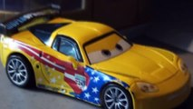 Pixar Cars with Jeff Gorvette from Cars2 , and some Real nice Corvettes, check it out.