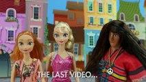 Kristoff Saves Anna & Elsa after Hans Freezes Them. DisneyToysFan