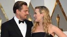 Red Carpet Reunion: Leonardo DiCaprio HUGS Kate Winslet At 2016 Oscars