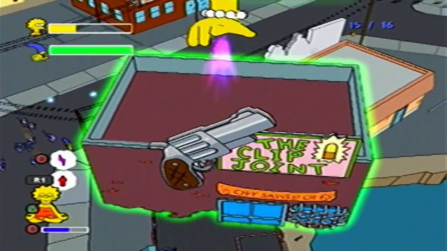 The Simpsons Game - #17 : Grand Theft Scratchy !!! [2/2]