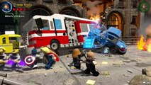 Lego Marvels Avengers Thor, Capt. America, Hawkeye Must Hold off Lokis Chitauri Army The Avengers