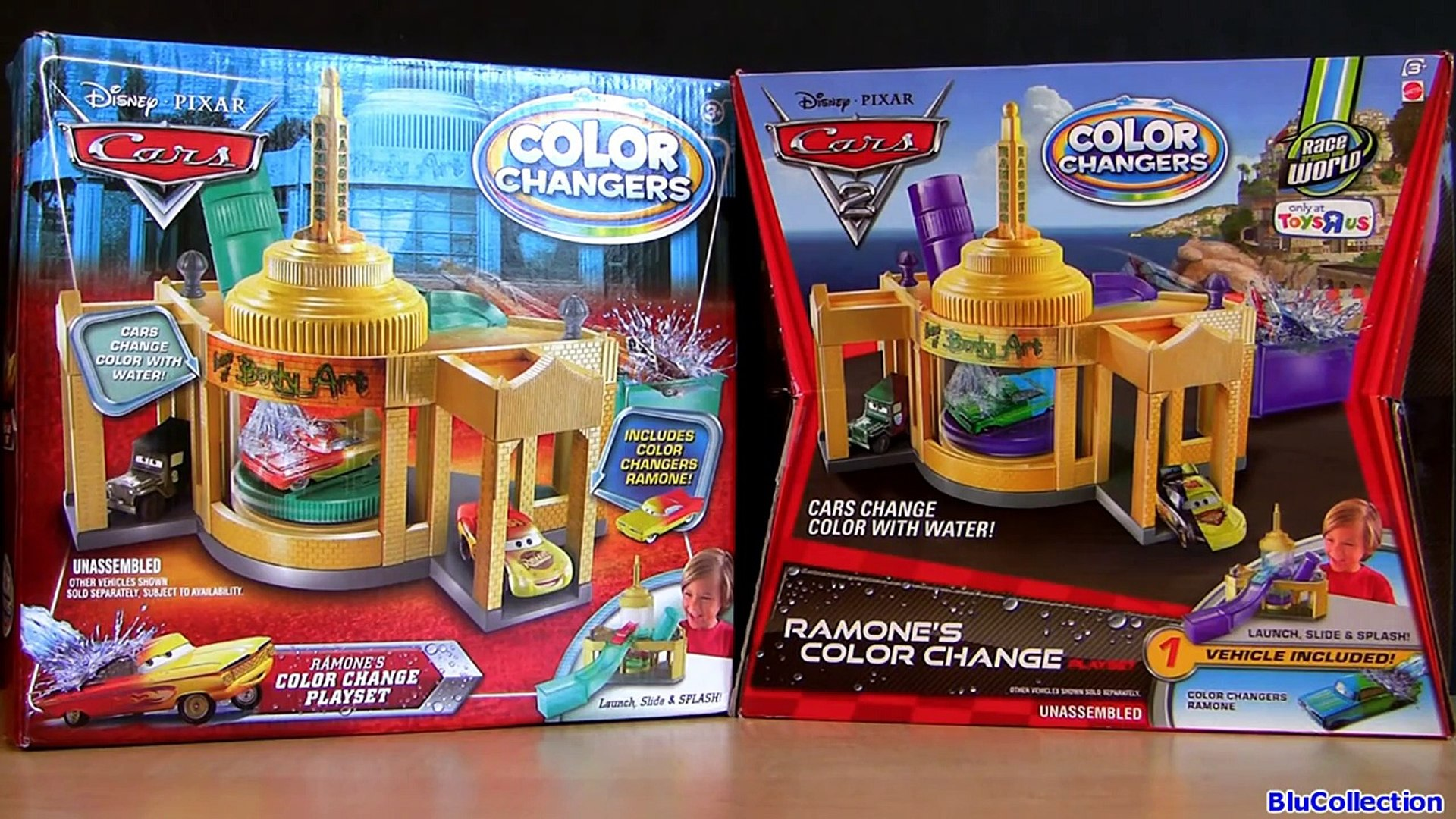 26 Color Changers Cars Ramone Playset Cars 2 Ramone House Of Body Art Disney Pixar By Blucollection Video Dailymotion