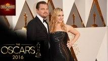 Leonardo Dicaprio And Kate Winslet REUNITE At The 2016 OSCARS | Hollywood Asia