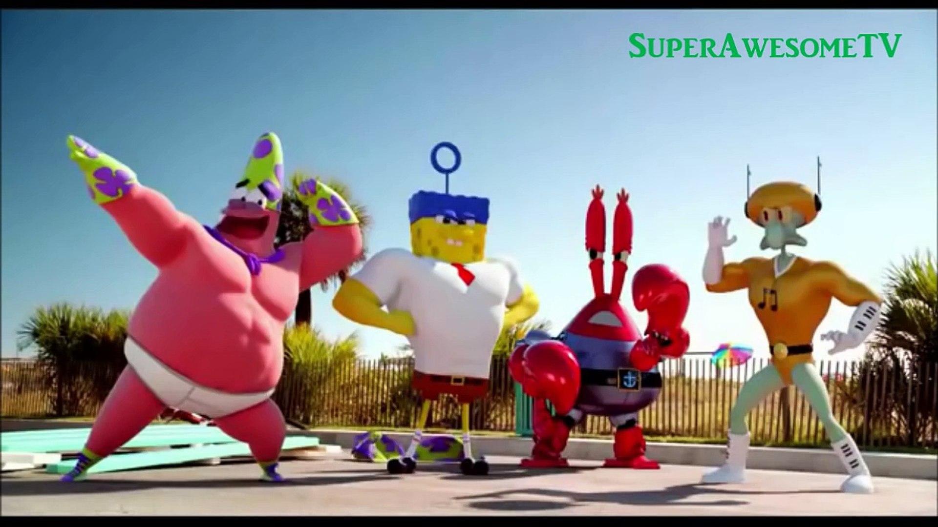 The SpongeBob Movie- Sponge Out of Water- A Plank-TON of TV Spots (2015) HD
