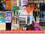 Download  Lets Explore Italy Most Famous Attractions in Italy Italy Travel Guide Childrens Free Books