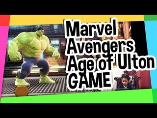 Marvel Avengers age of Ultron game